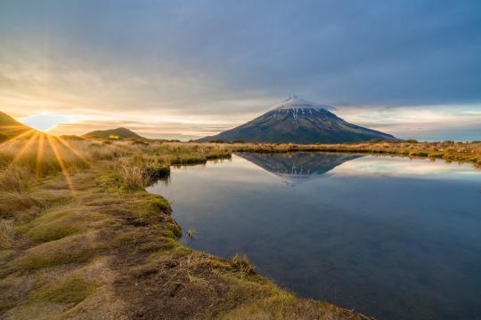 Mount Taranaki hike