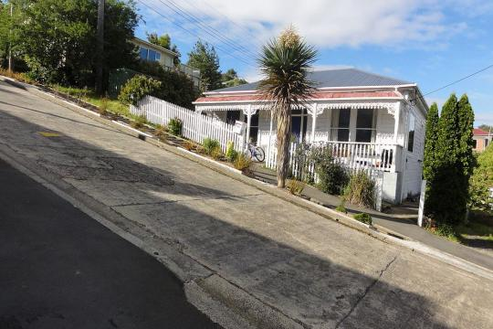 The steepest street in the world