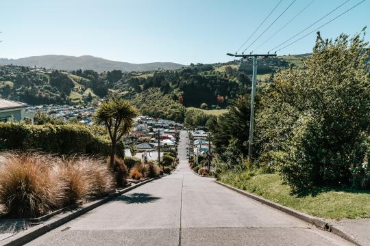 Visit the steepest street in the world