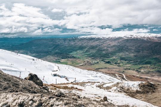 Visit Cardrona Ski Field + Bra Fence