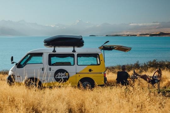 Pick up your campervan [included]